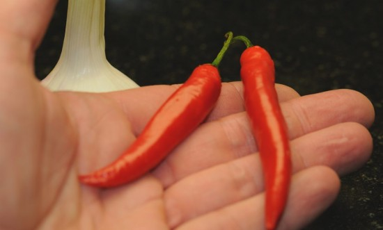 chilli vorbereitung entkernen b
