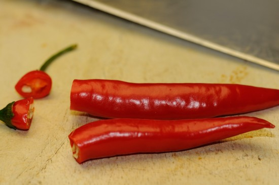 chilli vorbereitung entkernen a